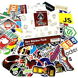 ByteSwag Developer Stickers from for Software Developers, Engineers, Hackers, Programmers, Geeks, and Coders.