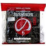 Yamamotoyama - Nori pour Sushi (qualité super premium) - Algues séchées 50 feuilles (125 g)