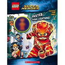 Faster than Lightning! (LEGO DC Comics Super Heroes: Activity Book with Minifigure)