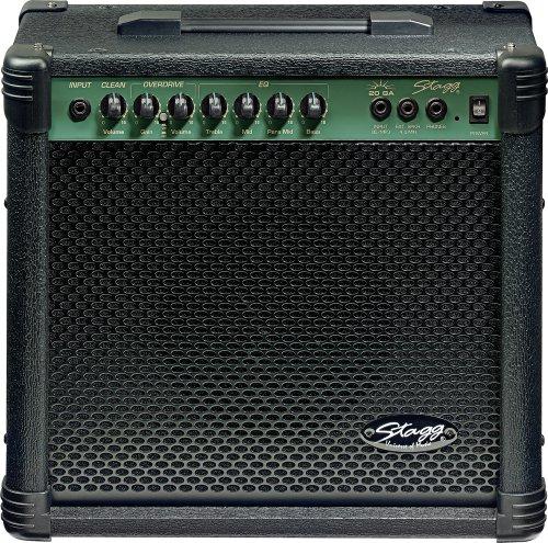 Stagg 25015601 Combo Gitarrenverstärker 20 W RMS