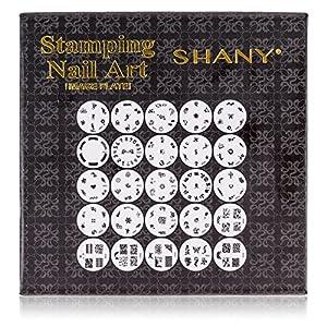 Shany Nail Art Polish Stamp Manicure Image Plates Set of 25 Image Plates