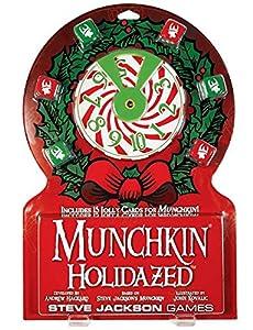 Munchkin-332222-Juego de Tarjetas-holidazed