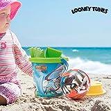 Juego de Playa con Pelota Looney Tunes (5 piezas)