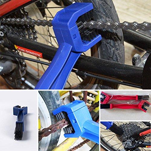 UxradG Motorrad Bürste. Nylon Fahrrad Kette Pinsel Reinigung Kette von Farbe in zufälliger