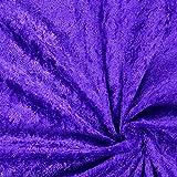Fabulous Fabrics Pannesamt lila - Weicher SAMT Stoff zum