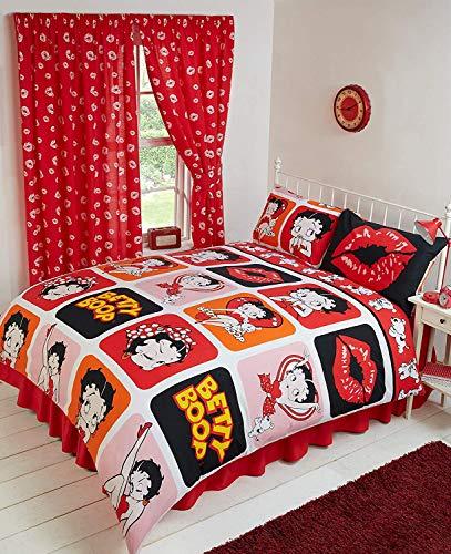 Schöne Bettwäsche Mit Dem Muster Rot Weiß Gepunktet Auf
