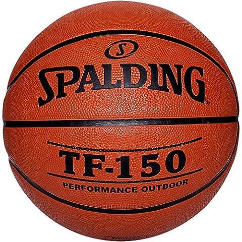 Spalding Spalding Tf150 Out Sz.5 - Pelota de baloncesto ( cuero, talla 5, juego ), color naranja, talla