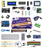 #9: Quad Store(TM) - Super Starter Kit for Arduino Uno R3 (Beginner's Kit)