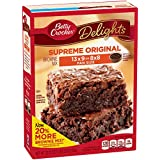 Betty Crocker Supreme Original Brownie Mix - 630 gr