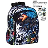 Montichelvo Backpack A.O. CG Wild & Free Cartable, 43 cm, Multicolore (Multicolour)