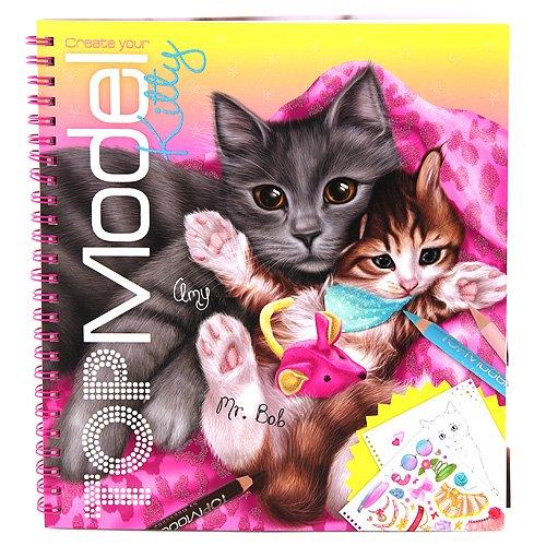 TOPModel 6671 - Malbuch (Kitty Weihnachten)