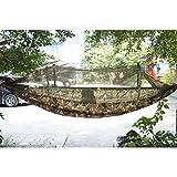 Antye Tragbaren Nylon Gewebe Reisen Camping Hängematte Für Eine Person Mit Moskitonetzen Hochfester Nylon Hängematte (farbe)