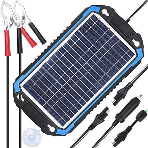 SUNER POWER 12v solar car ladegerät & maintainer tragbare solar-panel trickle charging kit 6w Marine blau (Automobil-solar-ladegerät)