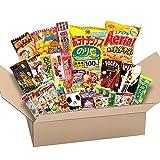Japanese Wertvolle Partei Snack BOX beliebte set Dagashi Japan Luftschokolade Pocky mit Akiba König Aufkleber