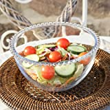 Clean And Elegant Salad Bowl - Ideal For Serving Chopped Salad At Family Buffets And Dinner Parties - H11 x Diameter 20cm