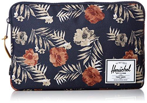 Preisvergleich Produktbild Herschel Anchor Sleeve 12 inch Macbook Peacoat Flora / Blumen Hülle