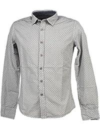 Biaggio - Cornela lt grey ml shirt - Chemise manches longues