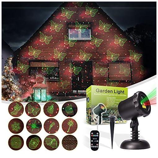 Proiettore Luci Di Natale Amazon.Led Paesaggio Proiettore Luci Natalizie Decorazioni Natalizie Da