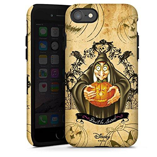 Apple iPhone X Silikon Hülle Case Schutzhülle Disney Schneewittchen Hexe Geschenke Tough Case glänzend