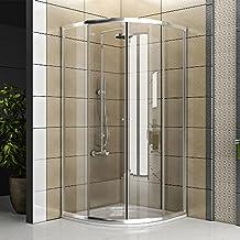 cabina de ducha de clara de cristal de ducha de cristal