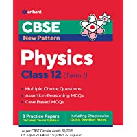 CBSE New Pattern Physics Class 12 for 2021-22 Exam (MCQs based book for Term 1)
