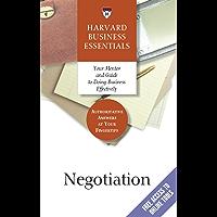 Negotiation (Harvard Business Essentials) (English Edition)