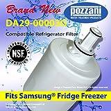 1 Pozzani Ice & Water Filter To Fit Samsung DA29-00003G Aqua Pure Plus