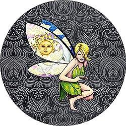 Dem Boswell Earth Fairy Sun Moon Flower Reserveradabdeckung Universal Fit 17 Zoll