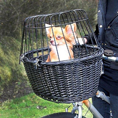 Vorne Angebrachte Wicker Korb Bike