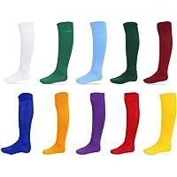 xpaccessories 1 x Plain Football Socks 100% Nylon Rugby Hockey Soccer Mens Womens Kids Sports