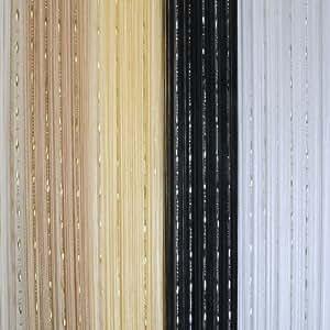 rideau fil draperies voilage gland d coration fen tre. Black Bedroom Furniture Sets. Home Design Ideas