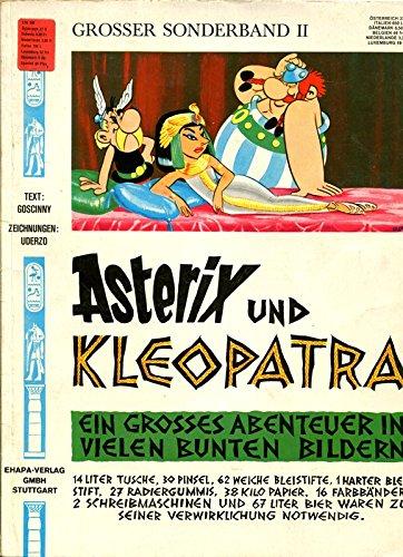 Großer Asterix-Sonderband II / 2: Asterix und Kleopatra. 1. / erste Auflage 1968