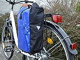 Fahrradtasche aus Tarpaulin - LKW Plane Blau