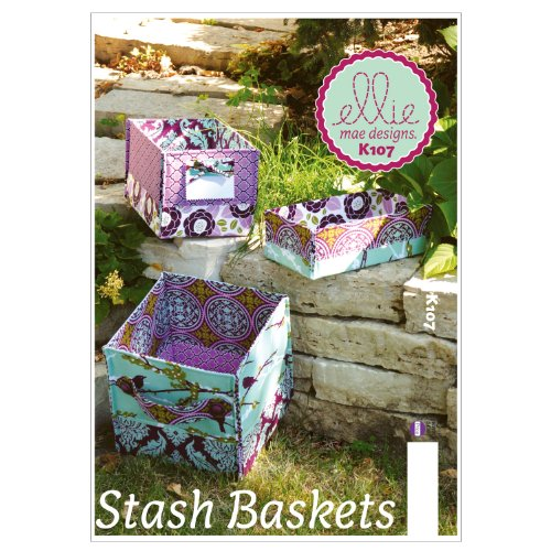 Patterns K0107 Stash Baskets White