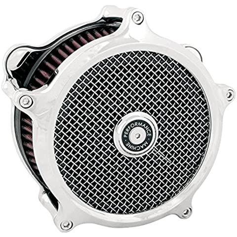 Performance Machine Super Gas Filtro de aire cromo (Harley Davidson 1993-2011)