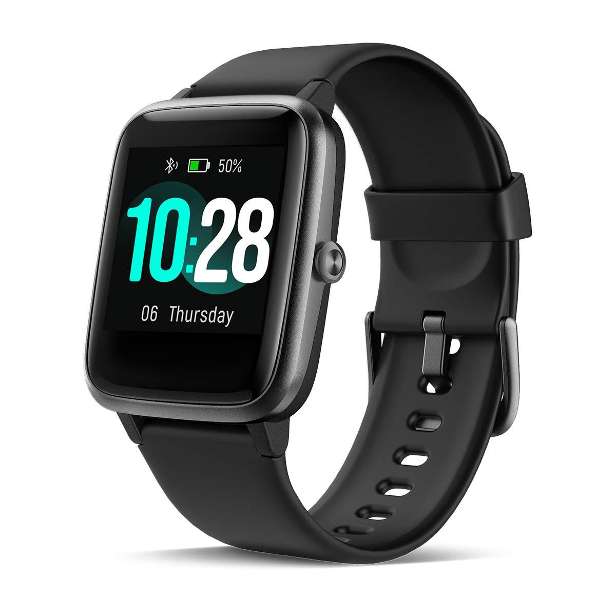 CHEREEKI Smartwatch Reloj Inteligente, Impermeable IP68 Pulsera Actividad con Ritmo Cardíaco, Reloj de Fitness con… 1