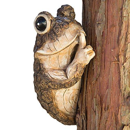 Bits and Pieces bits y Piezas–Callar Rana Árbol Peeker–Durable Polyresin Animal Tree-Hugger...