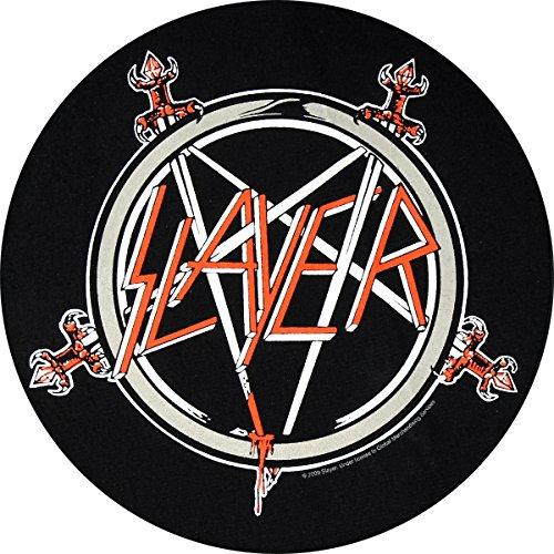 Toppa Slayer, Pentagram Back Patch Toppa