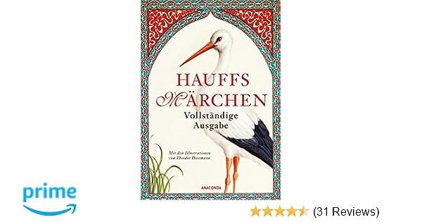 Hauffs Märchen. Vollständige Ausgabe: Amazon.de: Wilhelm Hauff ...