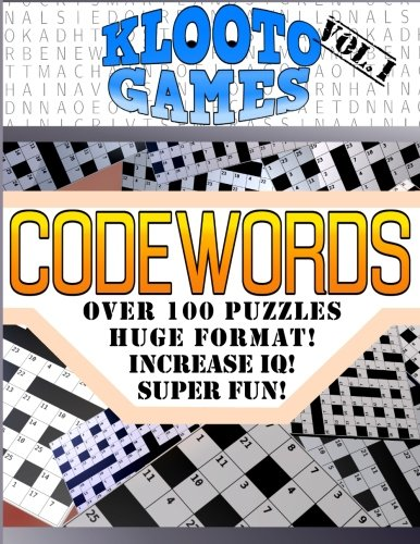 KLOOTO Games CODEWORDS: Volume I: Volume 1