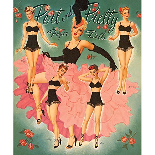collectible-pert-pretty-paper-doll-9-lovely-ladies-8-pages-of-outfits