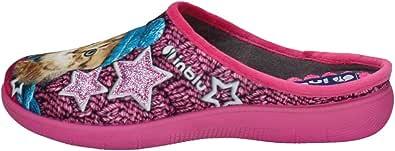 inblu EC000056 Blu Ciabatte Pantofole Donna Zeppa 3 CM
