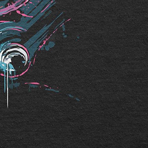 Texlab–Pilota Splash Painting–sacchetto di stoffa Nero