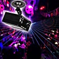 Disco DJ Stage Lights 3Lens 48 Gobos RG Projector Lighting Stage Blue Dynamic For KTV Xmas Party Wedding from Littleducking