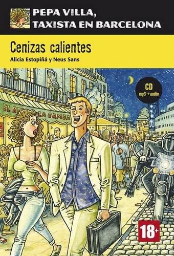 Portada del libro Serie Pepa Villa. Cenizas calientes + CD (Pepa Villa Taxista Barcelo)