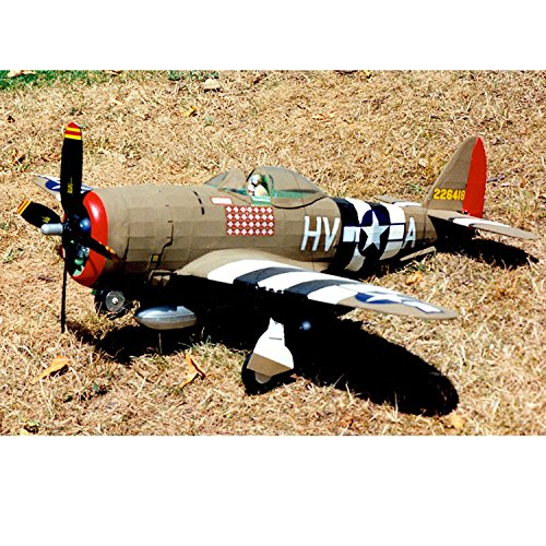 Guillow's WW ii USAF P-47D Thunderbolt Giant balsa Scale Model Flying Plane