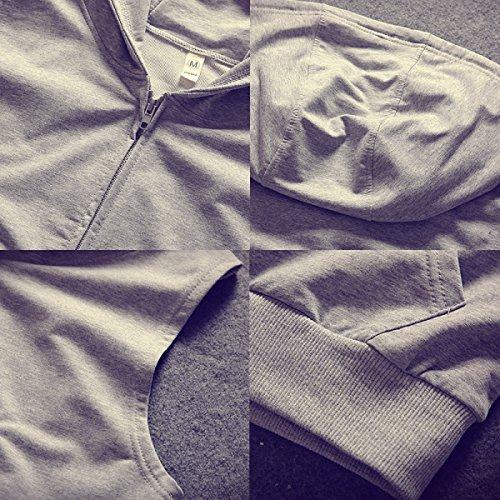 Maglia In Cotone Estivo Maschile GLF Maglia A Manica Lunga Senza Maniche Da Palestra Cardigan Con Cappuccio Black