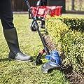 Qualtex 500W AC Electric Garden Lawn Grass Trimmer Corded - Cutting Diameter 30cm