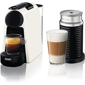De Longhi Essenza Mini en 85.w Cafetera de cápsulas con diferentes Cápsulas Nespresso