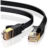UGREEN Cat 7 Plat Câble Ethernet Réseau RJ45 Haut Débit 10Gbps 600MHz 8P8C Compatible avec Routeur Modem Switch TV Box PC Xbo